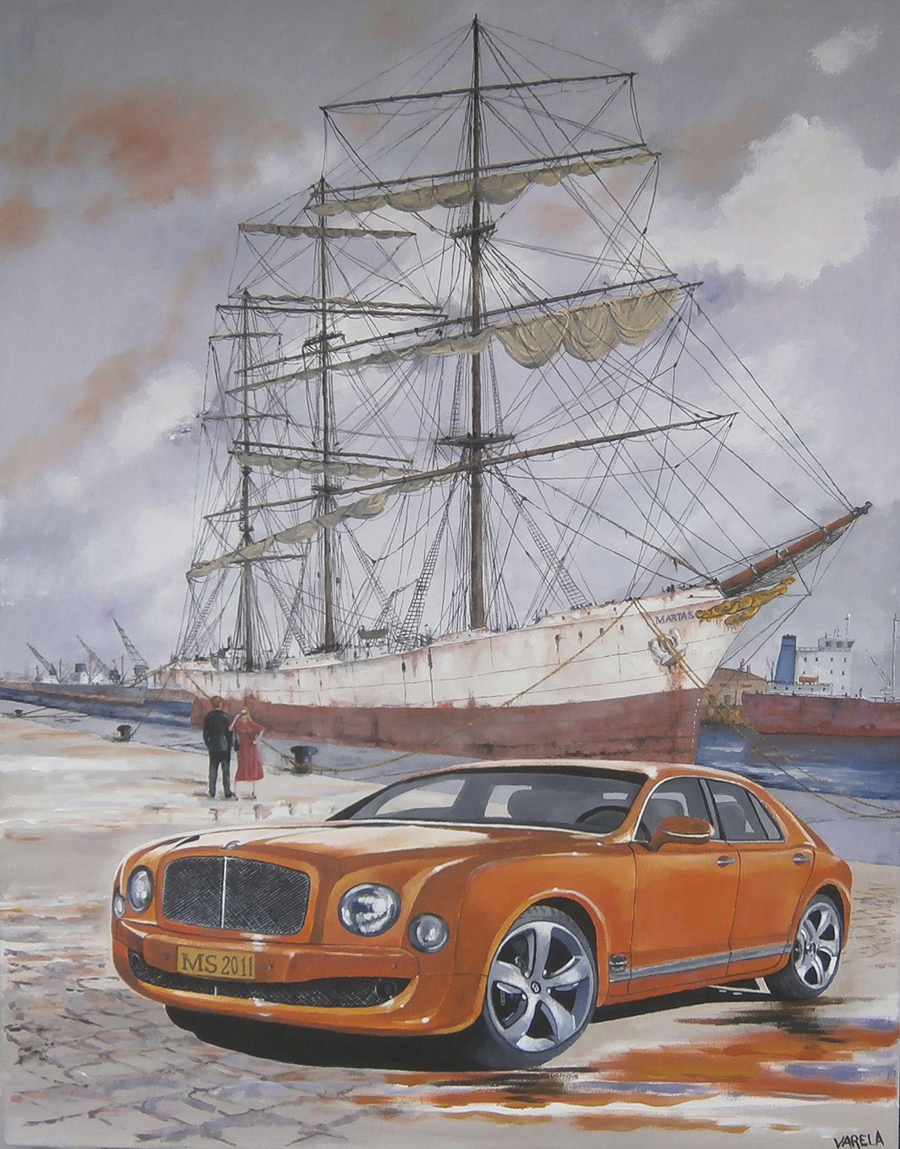 Ángel: El Marta S y el Bentley