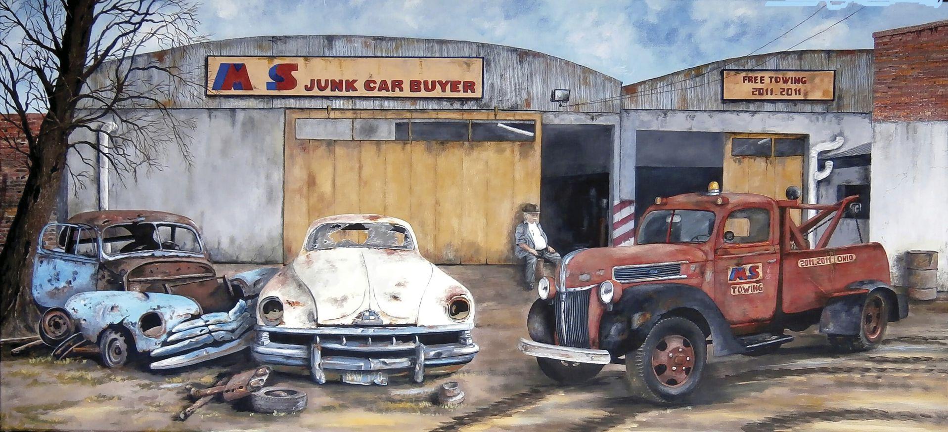 Ángel: El comprador de autos chatarra